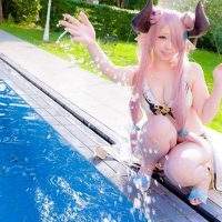 Narumea Summer Ver. Cosplay by Miiko