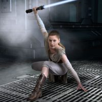 Marylin Will Awaken Your Force as Rey