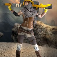 Joule Adams Cosplay by Marylin