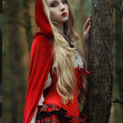 Into the Woods With Little Red Riding Hood by Absentia