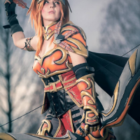 Talonflame Gijinka Cosplay by Scarlet Cosplay