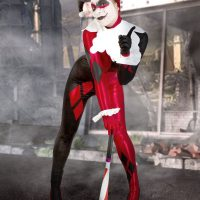 Zoey as the Original Harley Quinn