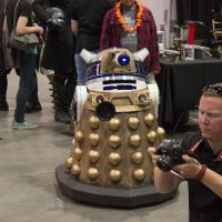 Las Vegas Comic Con – Books, Scoops, and Dalek R2s (Day 1)