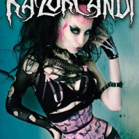 The amazing book of RazorCandi: Gothic Punk Deathrock Tattoo Pinup Icon
