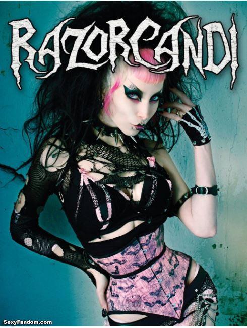 The amazing book of RazorCandi: Gothic Punk Deathrock Tattoo Pinup Icon
