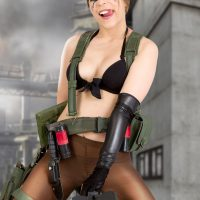 Zoey In Skimpy Quiet Cosplay