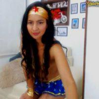 Danielabrunett7 is Wonder Woman
