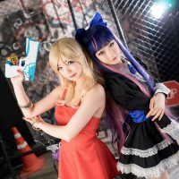 Sumptuous Panty and Stocking Cosplay