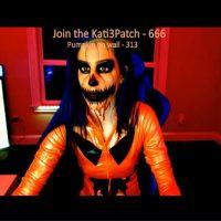 Sexy Pumpkin Kati3Kat Plays A Scary Game
