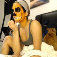 Emmylove Pumpkin Face Paint ASMR