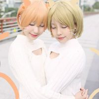Meownderful Hanayo and Rin Cosplay