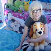 Rei_Lark Cuddles With Plushies