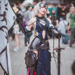 Eye-Catching Jeanne D'Arc Cosplay