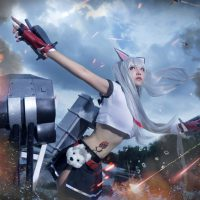 Action-Packed Yuudachi Cosplay