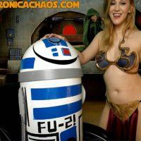 VeronicaChaos Is An Irresistible Slave Leia