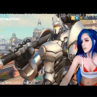 Kati3kat's Red Lingerie Gaming Hotness