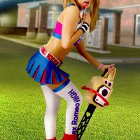Nikita And Her Chainsaw Crave Sweetness