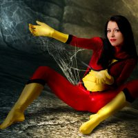 Mea Lee Will Capture You In Her Web