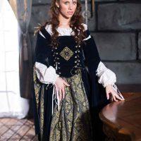 Anya Olsen rocks the frock for Bare Maidens