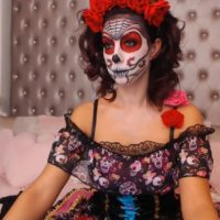 AmberEly Does A Great Sugar Skull