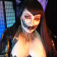 QueenOfMetal Is A Ravenously Ravishing Mistress Of The Night