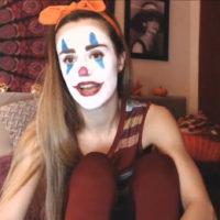 AudryHempburn's Face Paint Is No Joke