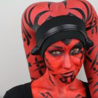 This Darth Talon Makeup Look Will Bring Out Your Dark Side