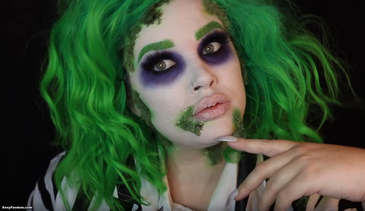 Make Them Say Your Name Three Times With This Beetlejuice Makeup