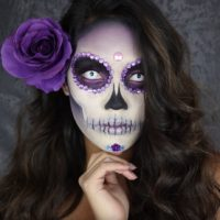 Celebrate Día de los Muertos With This Sugar Skull Look