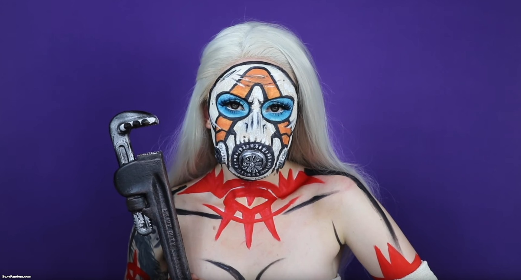 You Are Going To Go Psycho For This Borderlands Makeup Look