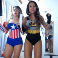 Mili_moon And LovelyPanda_ Team-Up For A Superhero Extravaganza