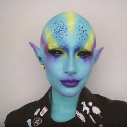 Become A Punk Alien Babe With ahitsrosa