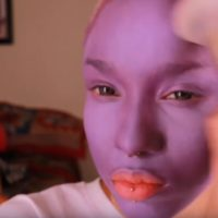OhhMaly's Alien Glam Look Is Out Of This World