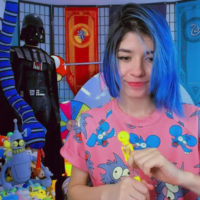 Agostinha_Red Celebrates The Itchy And Scratchy Show In Her Room