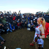 Korea's Celebrity Cosplayer Aza Spotted At Comiket 97