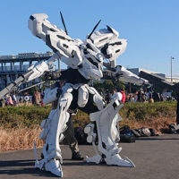 Awesome Armor Cosplays At Winter Comiket