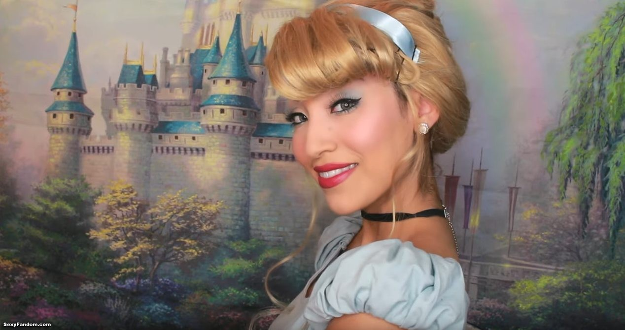 Nikole Jackson Shows Us A Cinderella Makeup Look That Will Last Past Midnight