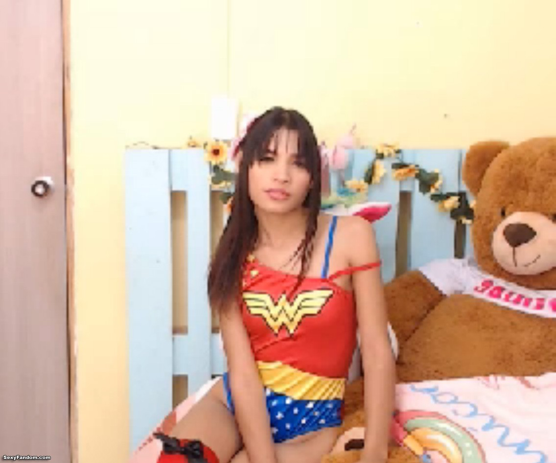 Sweetyangel_ Fights For Justice And Equality As Wonder Woman