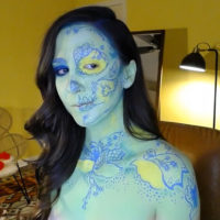 Yarrow Transforms Herself Into A Magical Skull
