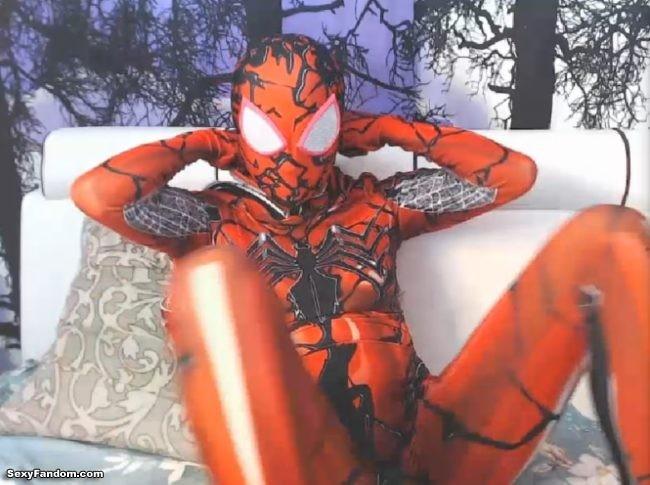 The Venom Symbiote Binds With ValarieDrak's Spider-Woman