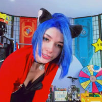 Agostinha_Red Has A Cat-Tastic Time In Her Room