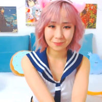 KyotoCream Is A Kittenish Schoolgirl
