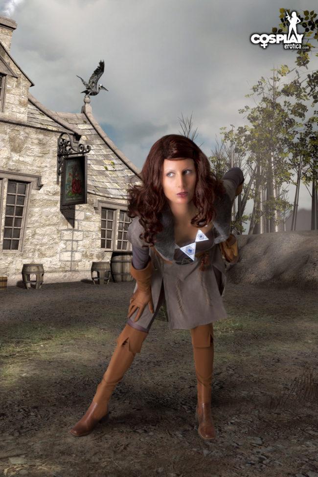 Cosplay Erotica's Tina Is The Tremendous Triss Merigold Sorceress