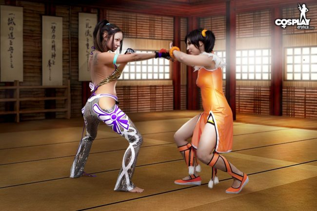 Cosplay Erotica's Nia And Zoey Are About To Finish Eachother In Tekken