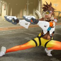 Cosplay Erotica's Stacy Looks Fantastic As Tracer From Overwatch