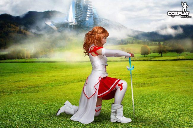 Watch Cosplay Erotica's Zoey Wield Her Sword As Asuna