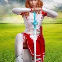 Watch Cosplay Erotica's Zoey Wield Her Sword As Asuna
