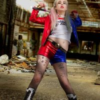 Cosplay Erotica's Stacy Looks Revved Up And Ready For Some Fun As Harley Quinn