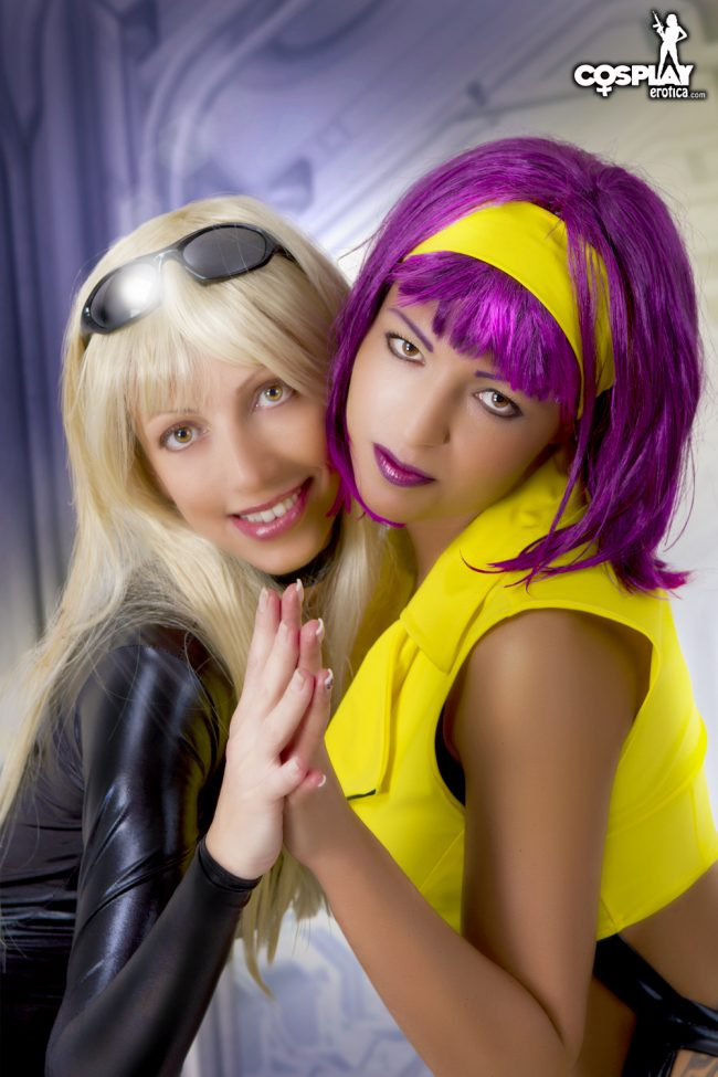Cosplay Erotica's Angela And Mea Lee Unite On Board The Bebop