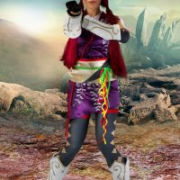 Cosplay Erotica's Devorah Takes Her Battle Stance As Kunimitsu